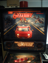 The Getaway II, Williams Pinball 1992