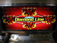 Triple Blazing Sevens - Diamond Line - B